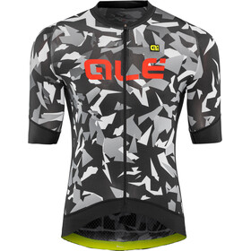 Alé Cycling Graphics PRR Glass Kortermede Sykkeltrøyer Herre Grå/Svart